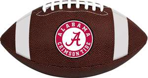 University of Alabama Crimson Tide Rawlings Game Time Full Size Football Team Logo