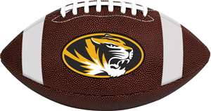 University of Missouri Tigers Rawlings Game Time Full Size Football Team Logo