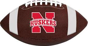 University of Nebraska Corn Huskers Rawlings Game Time Full Size Football Team Logo