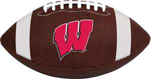 University of Wisconsin Badgers Rawlings Game Time Full Size Football Team Logo