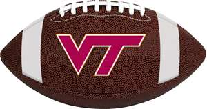 Virginia Tech Hokies Rawlings Game Time Full Size Football Team Logo