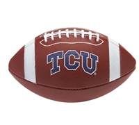 TCU Texas Christian University  Rawlings Game Time Full Size Football Team Logo