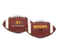 University of Southern Mississippi Eagles Rawlings Game Time Full Size Football Team Logo