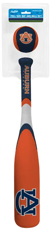 Auburn University Tigers Grand Slam Softee Baseball Bat and Ball Set