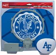 Air Force Acadmey Falcons Slam Dunk Indoor Basketball Hoop Set Over The Door