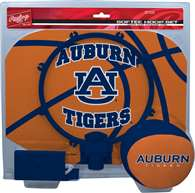 Auburn University Slam Dunk Indoor Basketball Hoop Set Over The Door