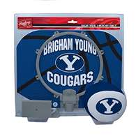 BYU Cougars Slam Dunk Indoor Basketball Hoop Set Over The Door