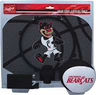 University of Cincinnati Bearcats Slam Dunk Indoor Basketball Hoop Set Over The Door