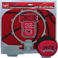 North Carolina State University Wolfpack Slam Dunk Indoor Basketball Hoop Set Over The Door
