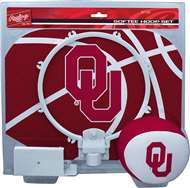 University of Oklahoma Sooners Slam Dunk Indoor Basketball Hoop Set Over The Door