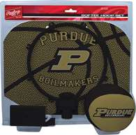 Purdue University BoilerMakers Slam Dunk Indoor Basketball Hoop Set Over The Door