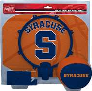 Syracuse University Orange Slam Dunk Indoor Basketball Hoop Set Over The Door