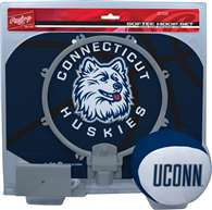 Connecticut Huskies Slam Dunk Softee Hoop Set