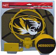 University of Missouri Tigers Slam Dunk Indoor Basketball Hoop Set Over The Door