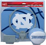 University of North Carolina Tar Heels Slam Dunk Indoor Basketball Hoop Set Over The Door