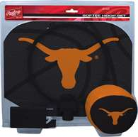 University of Texas Longhorns Slam Dunk Indoor Hoop Set