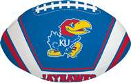 University of Kansas Jayhawks Goal Line 8 inch Softee Football