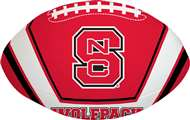 North Carolina State University Wolfpack Goal Line 8 inch Softee Football