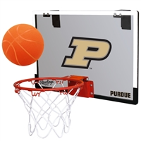 Purdue University Boilermakers Indoor Basketball Goal Hoop Set Game