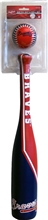 Atlanta Braves Grand Slam Baseball Bat & Softee Ball Toy Set