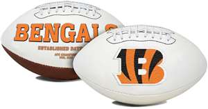 Cincinnati Bengals  Signature Series Full Size Football Autograph