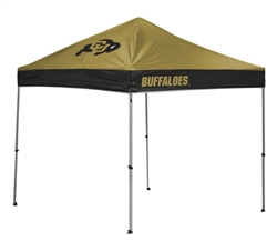 Colorado Buffalos 10 X 10 Straight Leg Canopy Tent