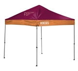 Virginia Tech Hokies 10 X 10 Straight Leg Canopy Tent