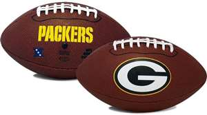 Green Bay Packers  Game Time Full Size Football - Rawlings