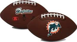 Miami Dolphins  Game Time Full Size Football - Rawlings