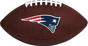 New England Patriots  Game Time Full Size Football - Rawlings