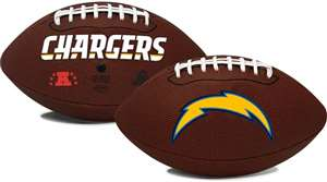 Los Angeles Chargers  Game Time Full Size Football - Rawlings