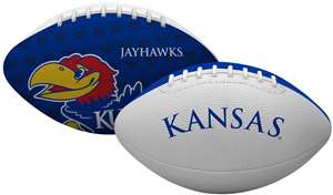 University of Kansas Jayhawks Gridiron Junior Size Football