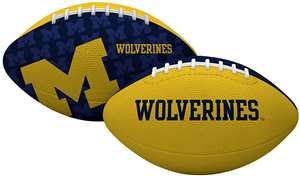 University of Michigan Wolverines Gridiron Junior Size Football