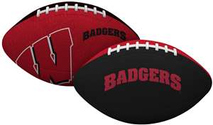University of Wisconsin Badgers Gridiron Junior Size Football