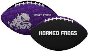 TCU Texas Christian University Horned Frogs Gridiron Junior Size Football