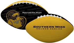 University of Southern Mississippi Golden Eagles Gridiron Junior Size Football