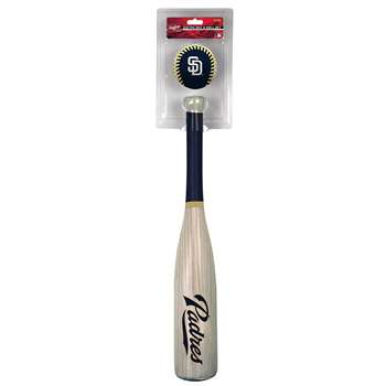 San Diego Padres Grand Slam Softee Baseball Bat and Ball
