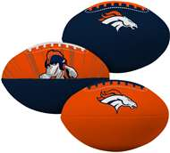 Denver Broncos  3rd Down 3 Ball Softee Mini Football Set