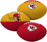 Kansas City Chiefs  3rd Down 3 Ball Softee Mini Football Set