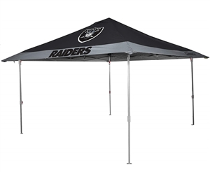 Oakland Raiders 10 X 10 Eaved Canopy Tailgate Tent