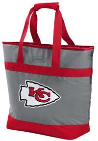 Kansas City Chiefs 30 Can Soft Sided Tote Cooler