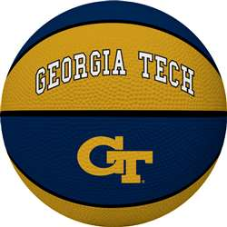 Georgia Tech Yellow Jackets Full Size Crossover Basketball - Rawlings