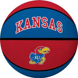 UNIVERSITY OF KANSAS Jayhawks Rawlings Crossover Full Size Basketball