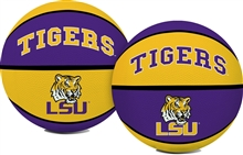 LSU Louisiana State University Tigers Rawlings Full Size Basketball Team Logo