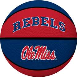 UNIVERSITY OF MISSISSIPPI Rebels Rawlings Crossover Full Size Basketball