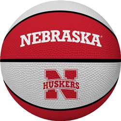 UNIVERSITY OF NEBRASKA Cornhuskers Rawlings Crossover Full Size Basketball