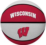 UNIVERSITY OF WISCONSIN Badgers Rawlings Crossover Full Size Basketball
