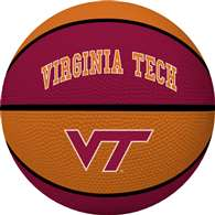 VIRGINIA TECH UNIVERSITY Hikies Rawlings Crossover Full Size Basketball