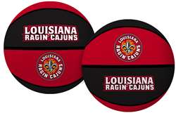 University of Louisiana Lafayette Ragin Cagin Rawlings Crossover Full Size Basketball