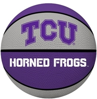 TEXAS CHRISTIAN UNIVERSITY Horned Frogs Rawlings Crossover Full Size Basketball